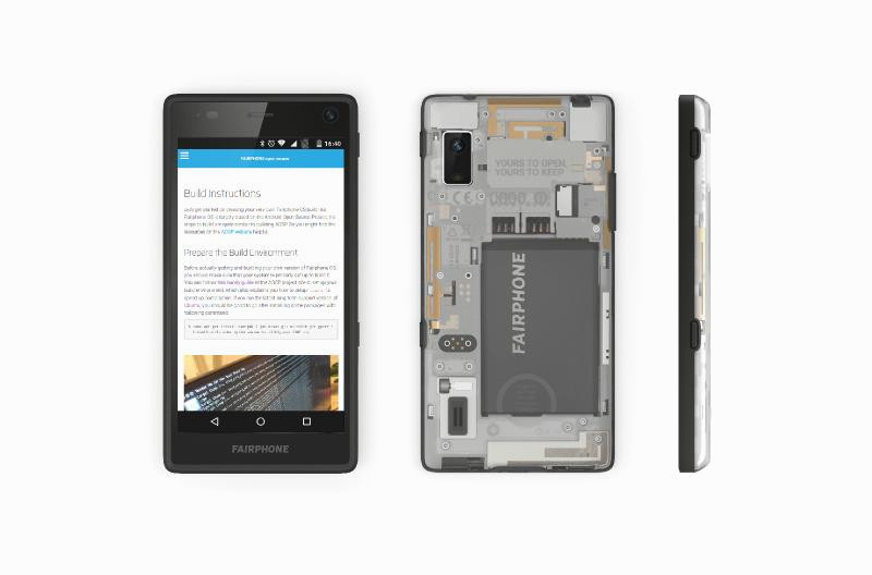 Fairphone OS software stack